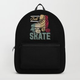 Just Skate | Retro Roller Skating Backpack