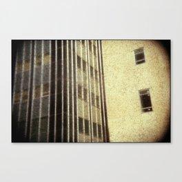 The City - Walls #3 Canvas Print