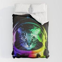 Astronaut Cat Comforters