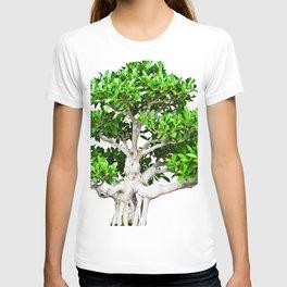 Leafy Bonsai Tree T-shirt