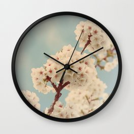 Pompoms Wall Clock