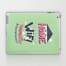 Home Wifi Laptop & iPad Skin