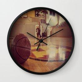 Vintage Basketball Gym Wall Clock