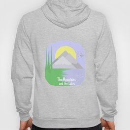 The mountains and the lake Hoody