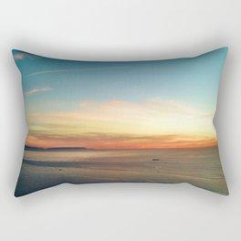 Pacific Ocean Sunset off the Coast of California Rectangular Pillow