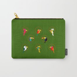 Tropical Hideaway Birds Carry-All Pouch