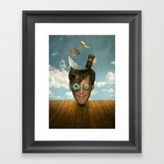 Surreal Thoughts Framed Art Print