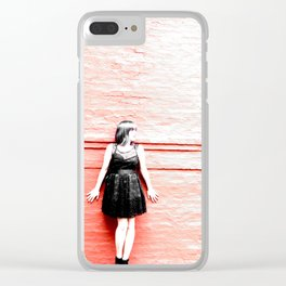 Caught in the Flash Clear iPhone Case