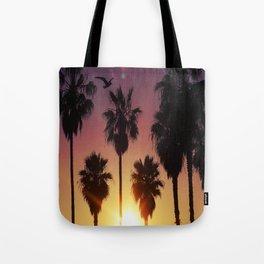 Venice Purple Sky Tote Bag