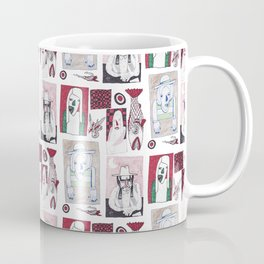 Red, White and Bait Coffee Mug