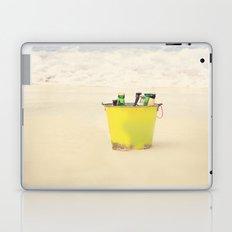 Bucket of Beer on the Beach Laptop & iPad Skin
