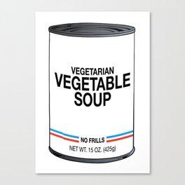 31 Vegetarian Vegetable Canvas Print