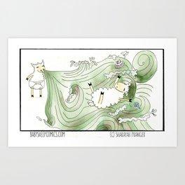 Rhinovirus Art Print