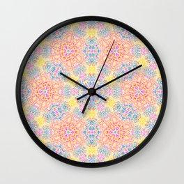 Pattern 24 Wall Clock