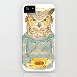 Feathers & Tunes iPhone Case