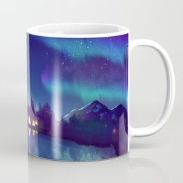 Northern Lights 2 Coffee Mug