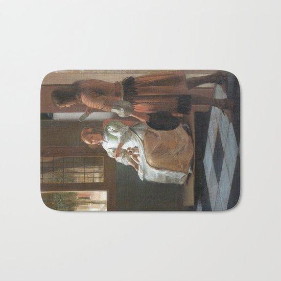 iphone vintage 4 Bath Mat