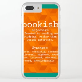 Bookish Clear iPhone Case