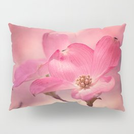 Colors of Spring: Pink Dogwood Pillow Sham