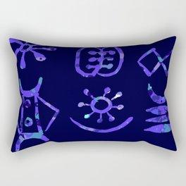 Adinkra Adire! Rectangular Pillow