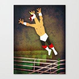 Lucha Libre Unicorn Canvas Print