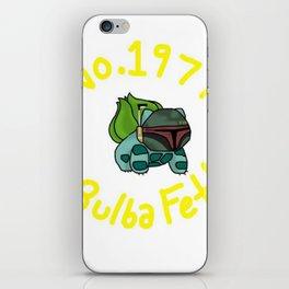 Bulba Fett iPhone Skin