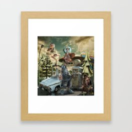 """""""Up, Up and Away"""" Framed Art Print"""
