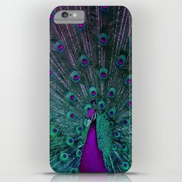 BLOOMING PEACOCK iPhone Case
