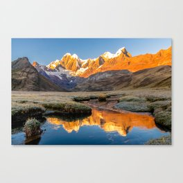 Morning Reflection Canvas Print