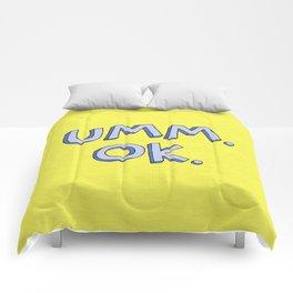 Umm OK Comforters
