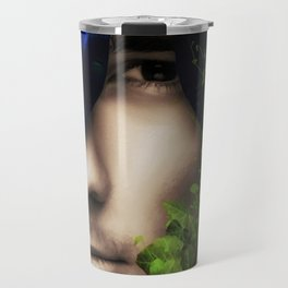 When He looked into Paradise - It was Midnight Fx  Travel Mug