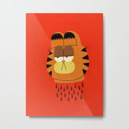 Garfield Metal Print