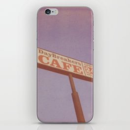 Day Breakers Cafe iPhone Skin