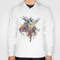 archan nair Hoodies featuring Etilazh by Archan Nair