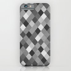 Black and White Harlequin Slim Case iPhone 6s