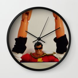 Shazam - After Hours Wall Clock