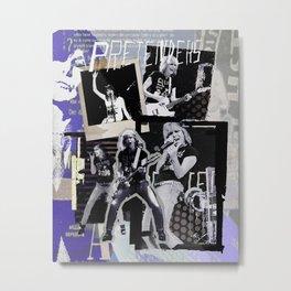 Pretenders collage Metal Print