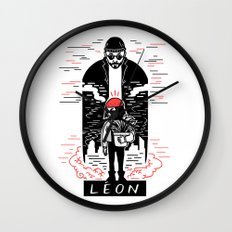 Leon & Mathilda Wall Clock