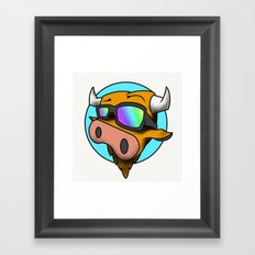 MooMooDecks Framed Art Print