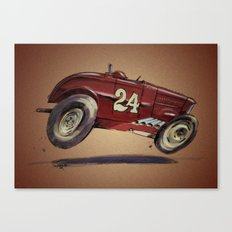 Red 24 Canvas Print