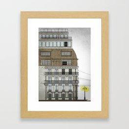 Haussmann Framed Art Print
