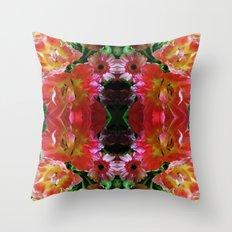 Flower Arrangements Throw Pillow