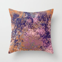 Colorful Abstract Decorative Bohemian Style Pattern - Domona Throw Pillow
