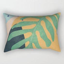 Tropical Abstract Art II Rectangular Pillow