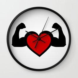 Healthy heart, healthy you Wall Clock