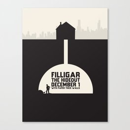 Filligar Hideout Chicago Canvas Print