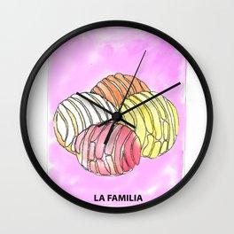 La Familia Wall Clock