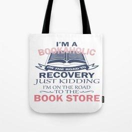 I'M A BOOKAHOLIC Tote Bag