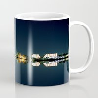 island Mugs featuring Island by riz lau