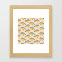Stegossaur Framed Art Print